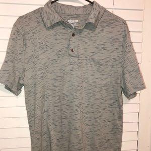 Mossimo Brand Gray Casual Polo Shirt